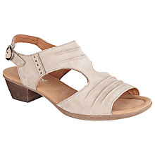 Buy Gabor Scrumptious Wide Fit Nubuck Sandals Online at johnlewis.com