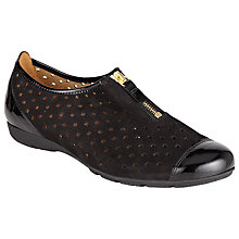 Buy Gabor Gibson Perforated Zip Detail Shoes Online at johnlewis.com