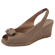 Buy John Lewis Mijas Espadrille Sandals, Taupe Online at johnlewis.com