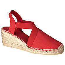 Buy John Lewis Ter Linen Wedge Heeled Espadrilles Online at johnlewis.com