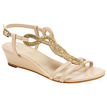 Buy John Lewis Sophia Leather Diamante Detail Sandals Online at johnlewis.com