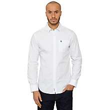 Buy Original Penguin Polka Dot Shirt, White/Classic Blue Online at johnlewis.com