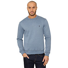 Buy Original Penguin Covert Samuel Sweatshirt, Blue Online at johnlewis.com