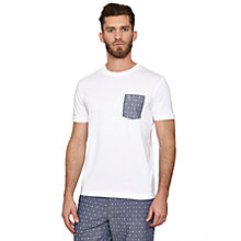 Buy Original Penguin Foulard Pocket Crew Neck T-Shirt Online at johnlewis.com