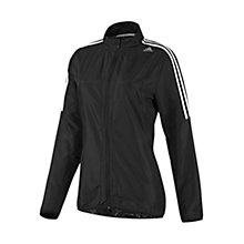 Buy Adidas Response Wind Jacket, Black/White Online at johnlewis.com