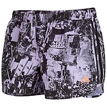 Buy Adidas Go-to Gear M10 Shorts, Purple/Black Online at johnlewis.com