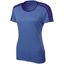 Buy Adidas Response Short Sleeve Crew Neck T-Shirt Online at johnlewis.com