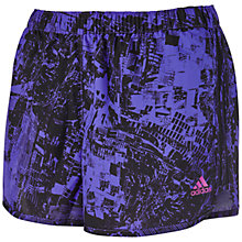 Buy Adidas Marathon 10 Energy Shorts, Purple Online at johnlewis.com