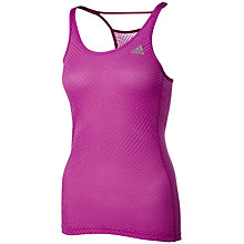Buy Adidas Infinite Series Supernova Tank Top, Pink Online at johnlewis.com