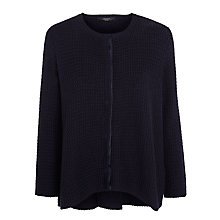 Buy Weekend by MaxMara Mirca Cotton Cardigan, Ultramarine Online at johnlewis.com