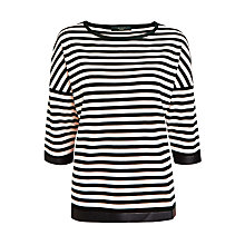 Buy Weekend by MaxMara Onorata Stripe Jumper, Light Pink Online at johnlewis.com
