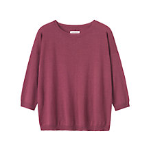 Buy Toast Akita Sweater, Rose Online at johnlewis.com