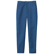 Buy Toast Etsuko Trousers, Indigo Online at johnlewis.com