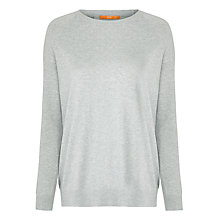 Buy BOSS Orange Jumper, Medium Grey Online at johnlewis.com