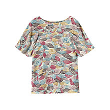 Buy Toast Niigata Top, Aubergine/Pink Online at johnlewis.com