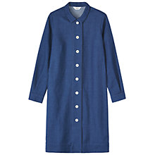Buy Toast Akira Shirt Dress, Indigo Online at johnlewis.com