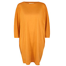Buy Toast Narai Knitted Dress, Amber Online at johnlewis.com