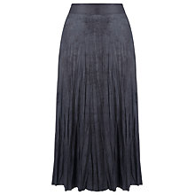 Buy Gerry Weber Faux Suede Skirt, Slate Online at johnlewis.com