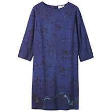 Buy Toast Natsuko Dress, Indigo/Black/Gold Online at johnlewis.com