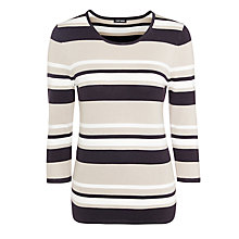 Buy Gerry Weber Stripe Top, Multi Online at johnlewis.com