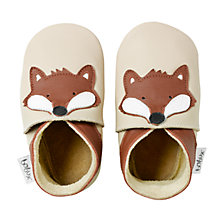 Buy Bobux Fox Booties, Beige Online at johnlewis.com