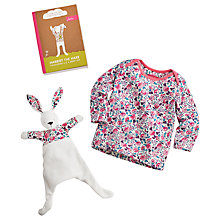 Buy Baby Joule Harriet the Hare Top and Toy Set, Cream/Multi Online at johnlewis.com