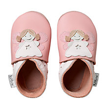Buy Bobux Fairy Booties, Pink Online at johnlewis.com