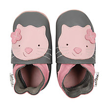 Buy Bobux Kitten Booties, Grey Online at johnlewis.com