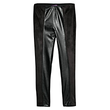 Buy Violeta by Mango Mixed Ponte Leggings, Black Online at johnlewis.com