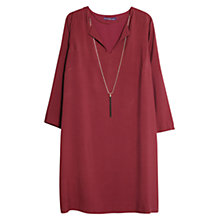 Buy Violeta by Mango Detachable Necklace Dress Online at johnlewis.com