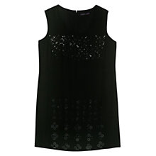 Buy Violeta by Mango Bead Embroidery Dress, Black Online at johnlewis.com