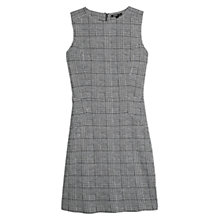 Buy Mango Prince Of Wales Dress, Black Online at johnlewis.com
