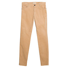 Buy Mango Slim-Fit Corduroy Trousers Online at johnlewis.com