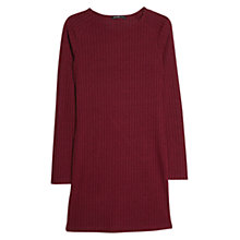 Buy Mango Ribbed Jersey Dress Online at johnlewis.com