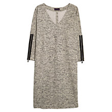Buy Violeta by Mango Flecked Dress, Light Pastel Brown Online at johnlewis.com