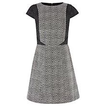 Buy Oasis Bethany Chevron Dress, Multi Online at johnlewis.com