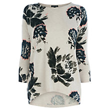 Buy Warehouse Fondant Print Jumper, Multi Online at johnlewis.com
