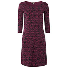Buy White Stuff Tawny Dress, Plum Brand Online at johnlewis.com