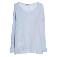 Buy Mango Mohair Blend Textured Jumper Online at johnlewis.com