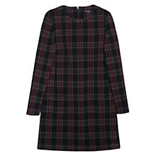 Buy Mango Check Dress, Navy Online at johnlewis.com