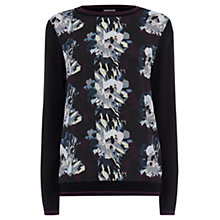 Buy Warehouse Sporty Trim Jumper, Multi Online at johnlewis.com