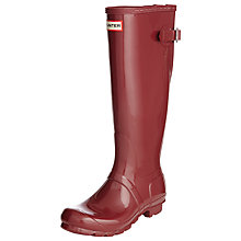 Buy Hunter Women's Original Adjustable Rubber Wellington Boots Online at johnlewis.com