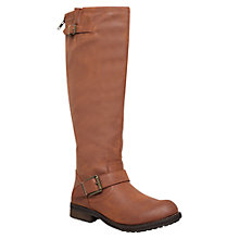Buy Miss KG Wendy Low Heel Knee High Boots, Brown Online at johnlewis.com