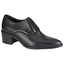 Buy Kin by John Lewis Fifty Three Leather Shoes, Black Online at johnlewis.com