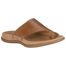 Buy Gabor Lanzarote Leather Flat Sandals Online at johnlewis.com