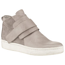 Buy Kin by John Lewis Fifty Two High Top Trainers, Grey Online at johnlewis.com
