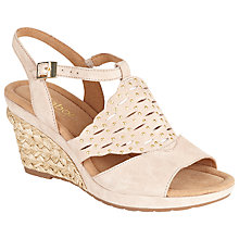 Buy Gabor Glory Wide Fit Suede Heeled Sandals Online at johnlewis.com
