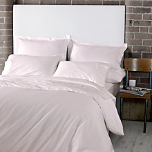 Buy Jigsaw Cashmere Blend Bedding, Blush Online at johnlewis.com