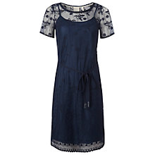Buy White Stuff Trailing Flower Dress, Dark Sakura Online at johnlewis.com