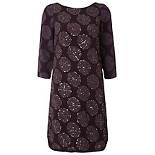Buy White Stuff Moonstone Dress, Kimono Purple Online at johnlewis.com